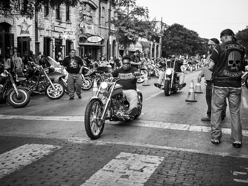 Rolling Down 6th Street, ROT Rally - Austin, Texas