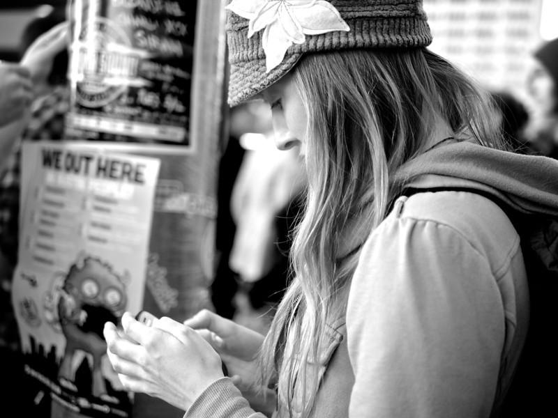 Hidden Blackberry, SXSW Photowalk - Austin, Texas