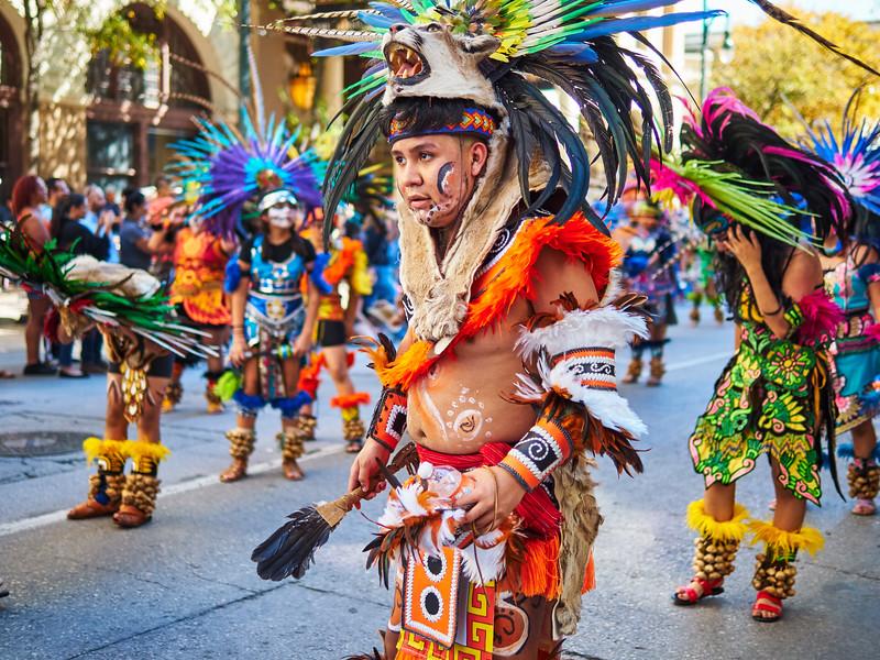The Parade, Dia de los Muertos 2018 - Austin, Texas