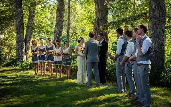 Fletcher and Jenny wedding 2013