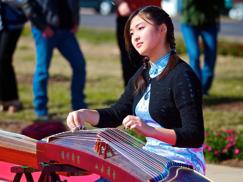 Ellen Chang, 2012 Chinese New Year Celebration - Austin, Texas