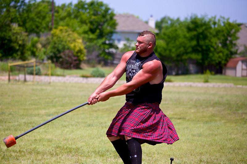 22 pound Hammer #1, Highland Games - Pflugerville, Texas
