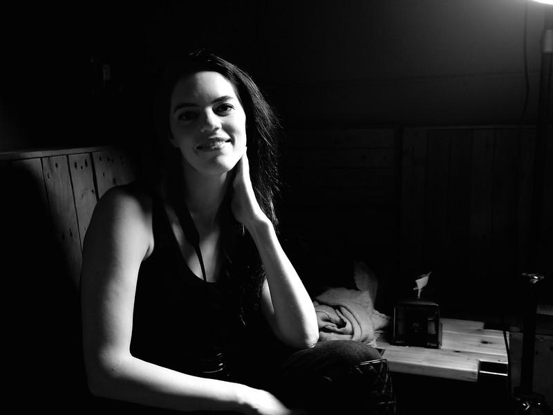 Marisa Portrait #1, Drink and Click - Austin, Texas
