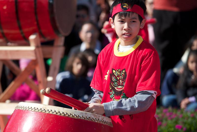 Drumming, 2012 Chinese New Year Celebration - Austin, Texas
