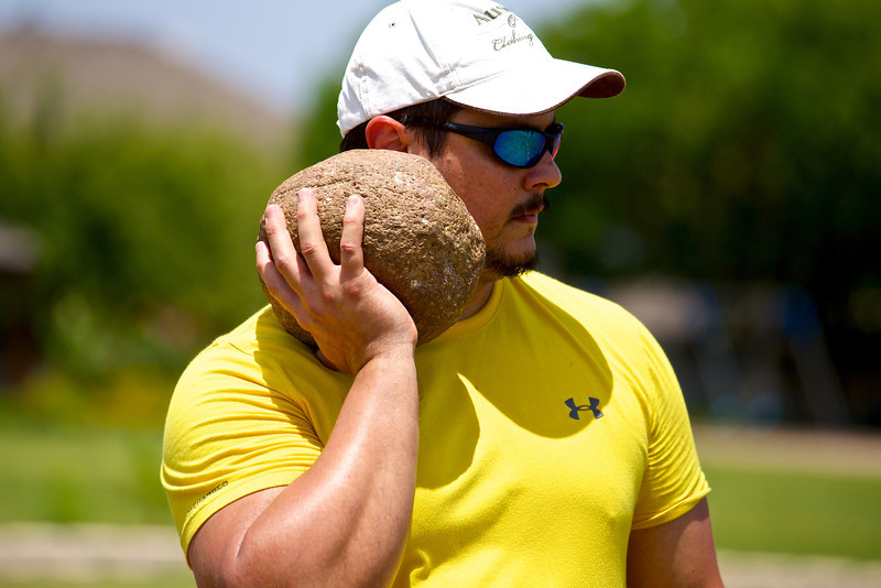 Stone Put, Highland Games - Pflugerville, Texas