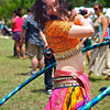 Hula Hoop Dancer, Eeyore's Birthday Party - Austin, Texas