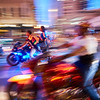 Motion Blur, ROT Rally Parade - Austin, Texas
