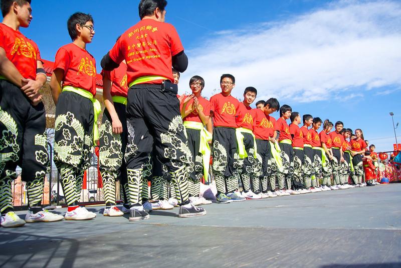 Lion Dance Team, 2014 Chinese New Year Celebration - Austin, Texas