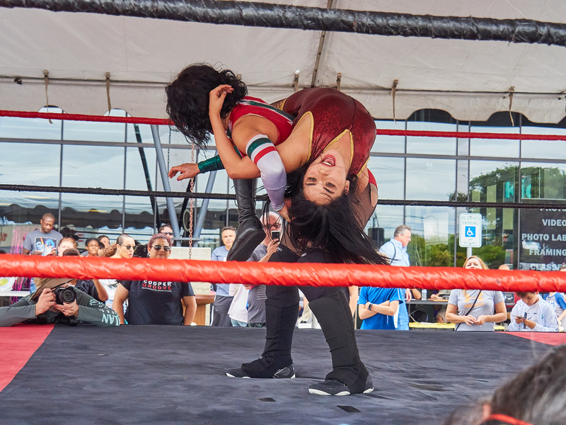 Lucha libre at Precision Camera - Austin, Texas