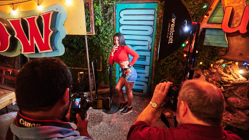 Drink and Click, Behind the Scenes - Austin, Texas