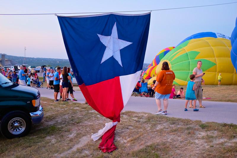 2014 Lake Travis Hot Air Balloon Flight #4 - Austin, Texas