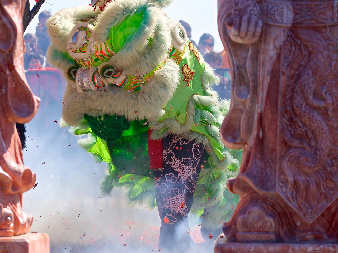 Lion Dance #1, 2013 Chinese New Year Celebration - Austin, Texas