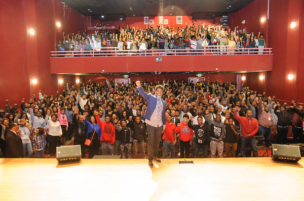 Artist/Activist David Banner during the God Box tour in Birmingham