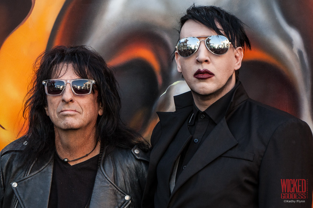 Alice Cooper and Marilyn Manson