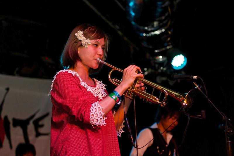 Yamazki Chihiro+Rote 14 band, SXSW Japan Nite - Austin, Texas