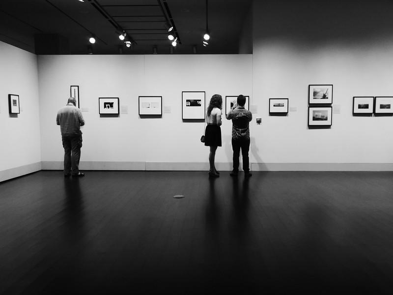 Photos at an Exhibition, Harry Ransom Center - Austin, Texas