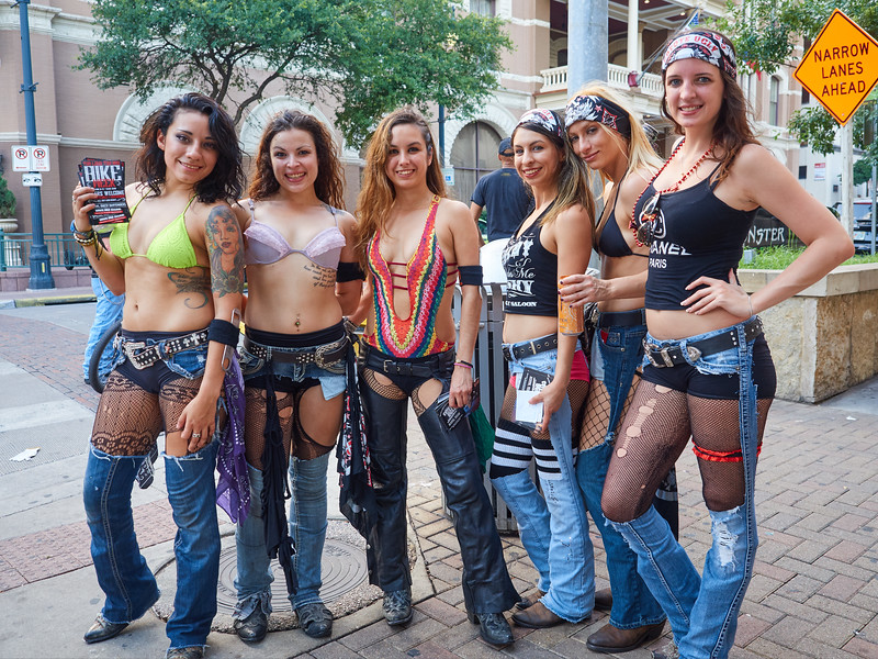 Promoting Coyote Ugly, 6th Street - Austin, Texas