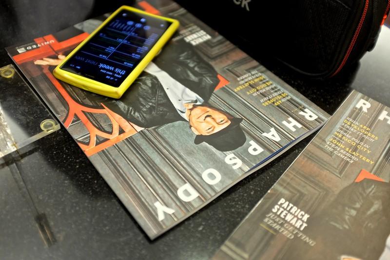 The Magazine and the Smart Phone - Houston, Texas