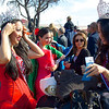 Beauty Queens Prepare, 2014 Chinese New Year Celebration - Austin, Texas