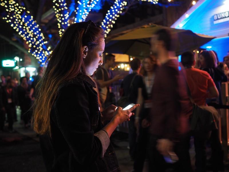 Smart Phone Check in, SXSW 2015 - Austin, Texas