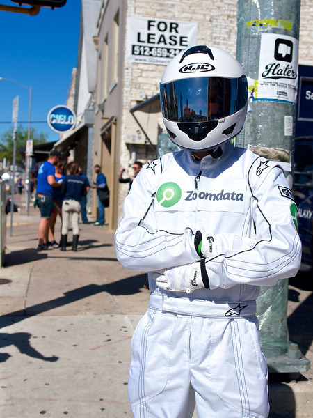 Zoomdata Guy, SXSW Interactive - Austin, Texas