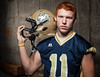 Mercer County High School senior and 2012-13 Dispatch Argus area football player of the year Tanner Matlick committed to Monmouth College to continue his football career.