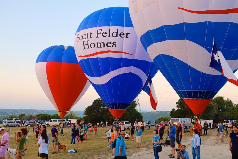 2014 Lake Travis Hot Air Balloon Flight #12 - Austin, Texas
