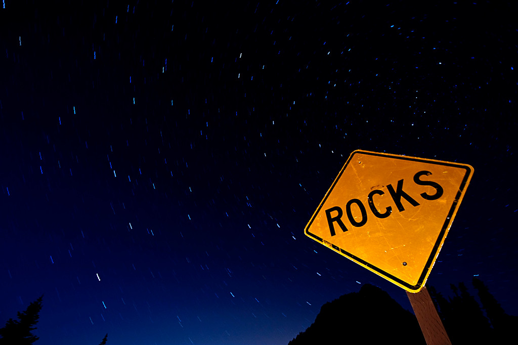 Star Trails Rocks!