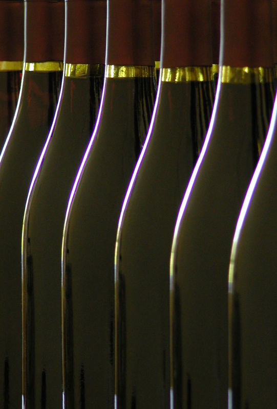 Hermosa Vineyards Syrah awaiting labels.