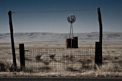 Near Fort Davis, Texas