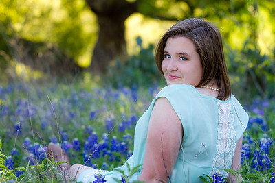 2014-04-08 Madi Wood Portrait in Bluebonnets-2