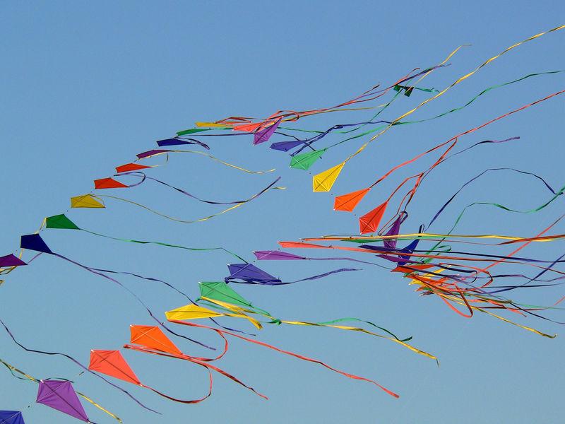 The 26th annual Zilker Park Kite Festival in Austin.