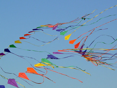 The 26th annual Zilker Park Kite Festival in Austin.