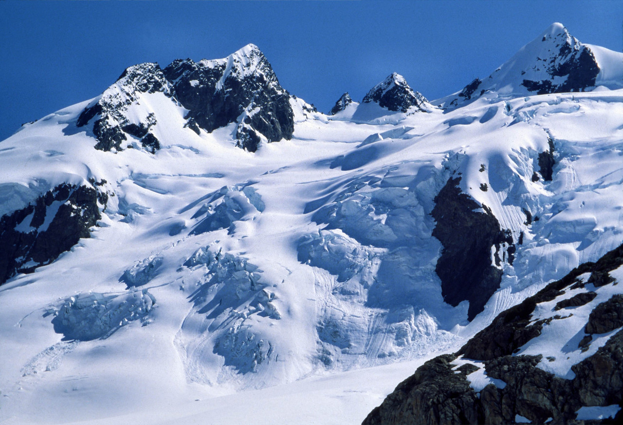 North face of Mount Olympus, Olympic National Park, Washington State.