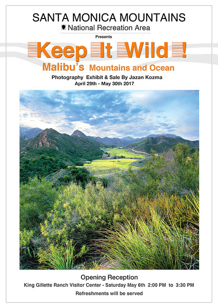 Keep It Wild! 2017 - Photography Exhibit & Sale