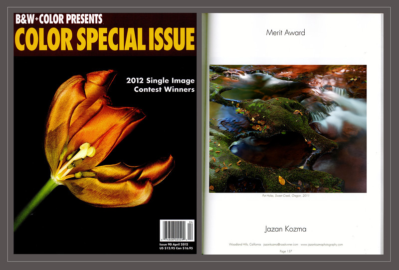 Color Magazine 2012  Single Image Contest Winner, Merit Award, Jazan Kozma, Catagory: Water