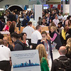 Employees and attendees during \Overall booth \