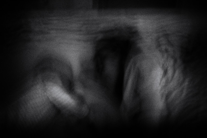Experimental photo project 'Family intimacy'.