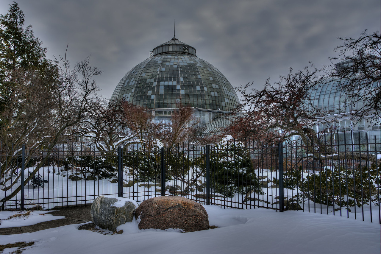 Belle Isle Conservatory in Detroit 2014.  This was the first HDR shot I attempted after watching Trey Ratcliff's Tutorials.