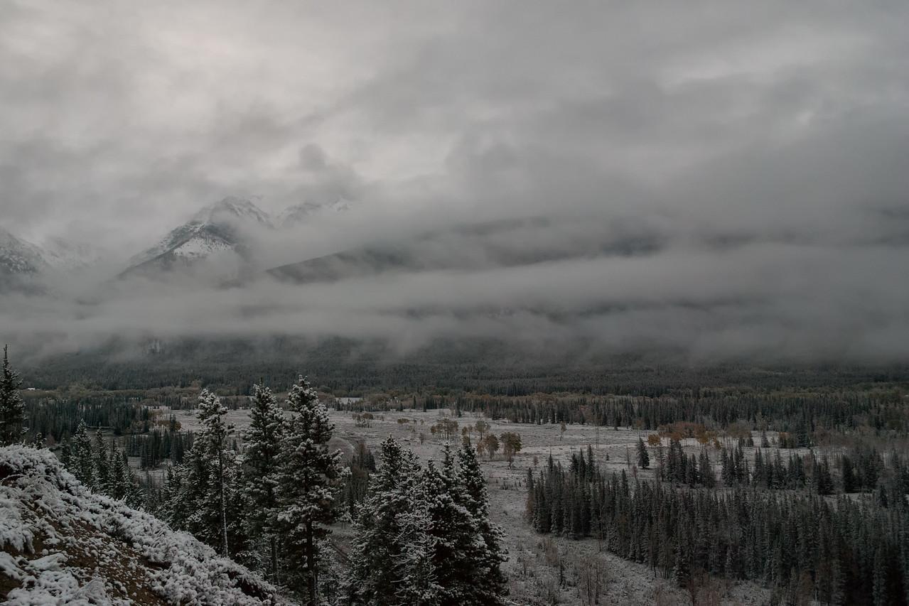 Mountains near Kananaskis Village, Alberta 2010