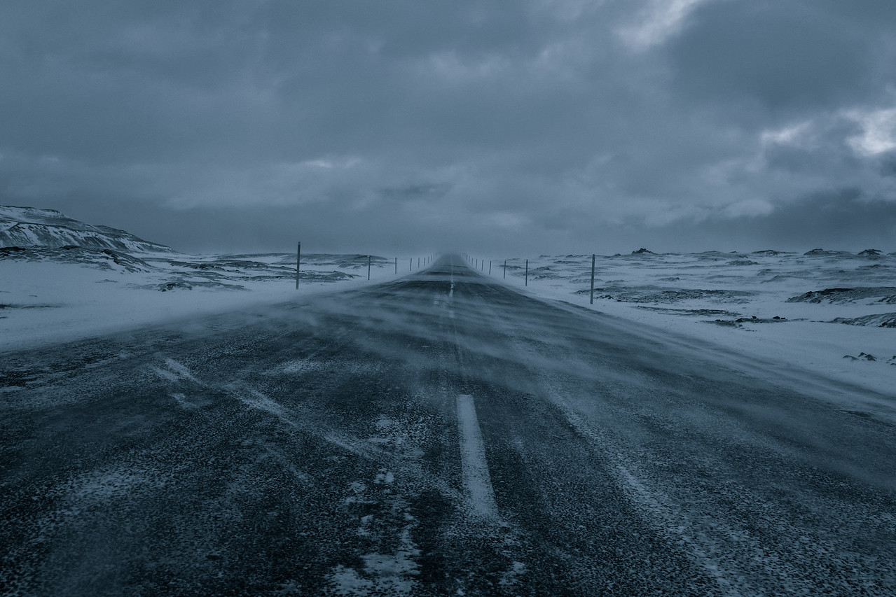 Windy Road - Iceland 2015