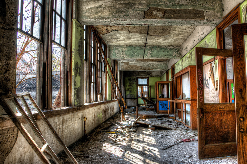 Abandoned School - Detroit, MI 2014