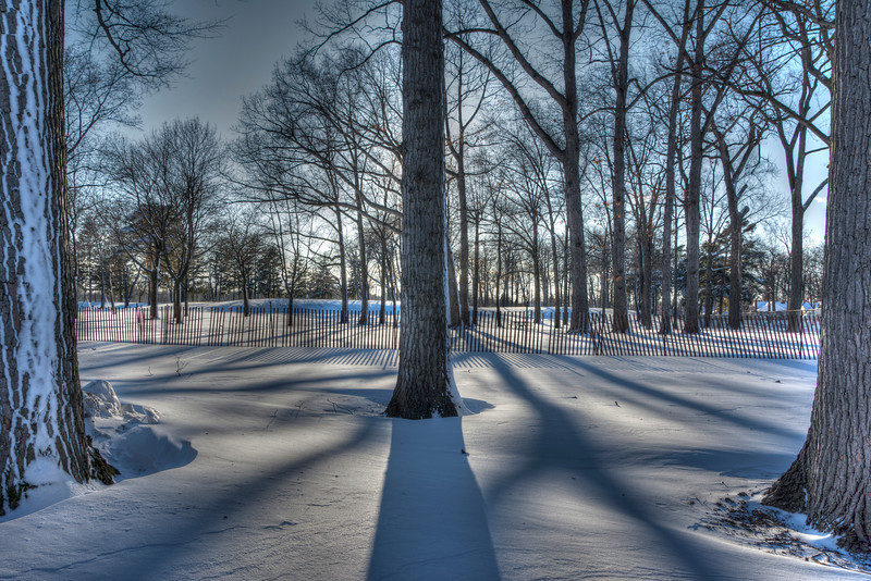 HDR Experimentation.  Captured on a very cold and windy evening at Levagood Park   Dearborn, MI 2014