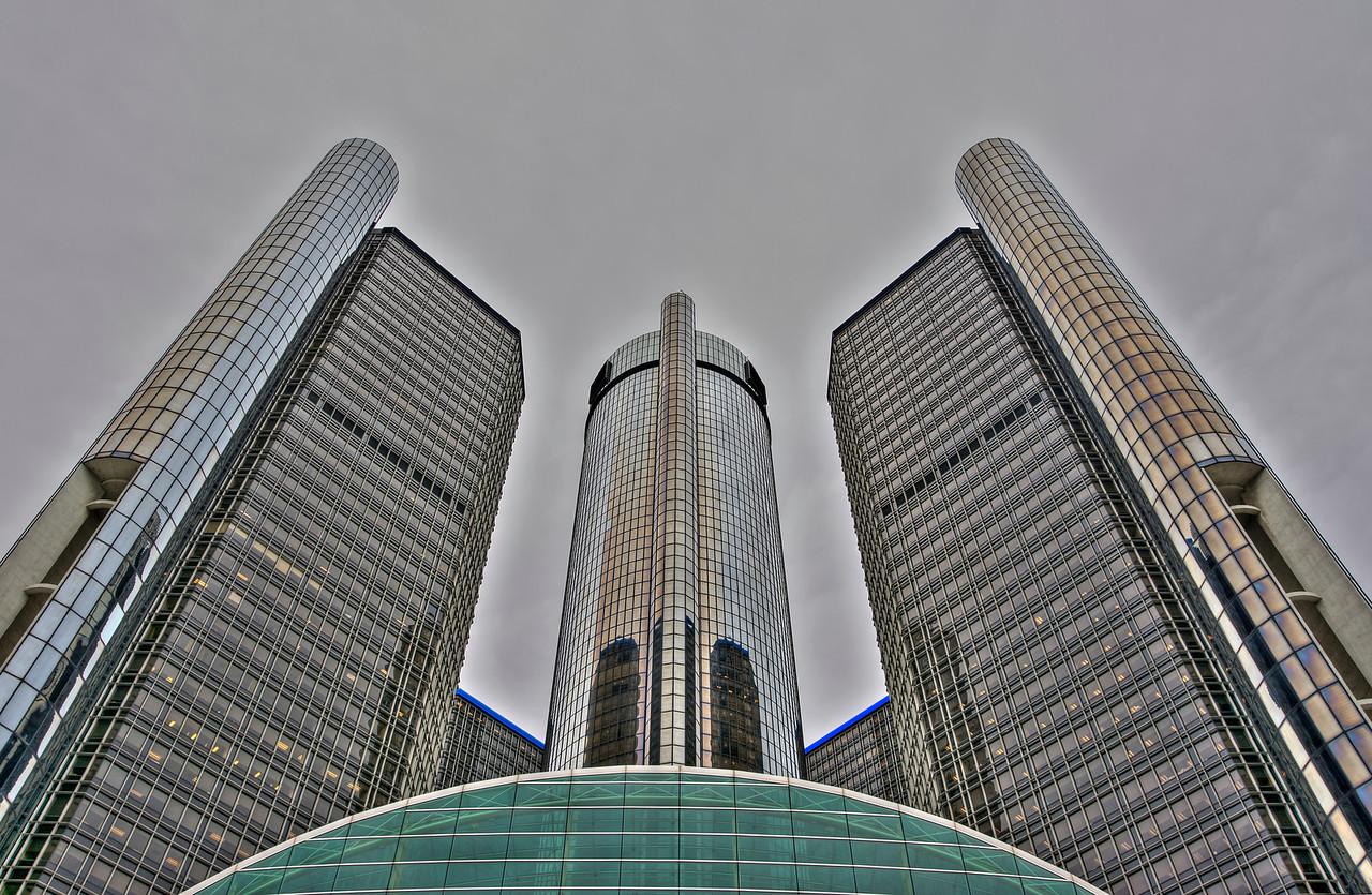 Renaissance Center - Detroit, MI 2014
