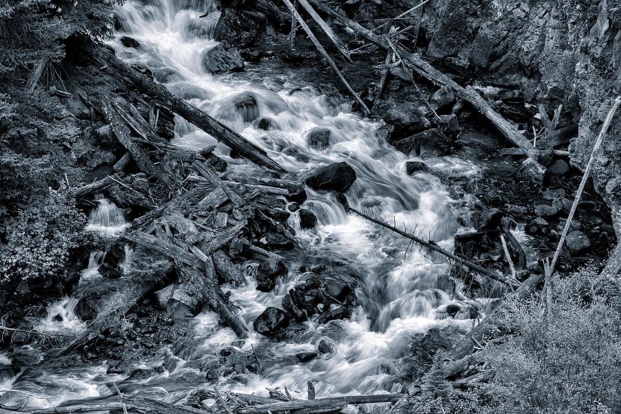 Waterfall - Yellowstone 2017