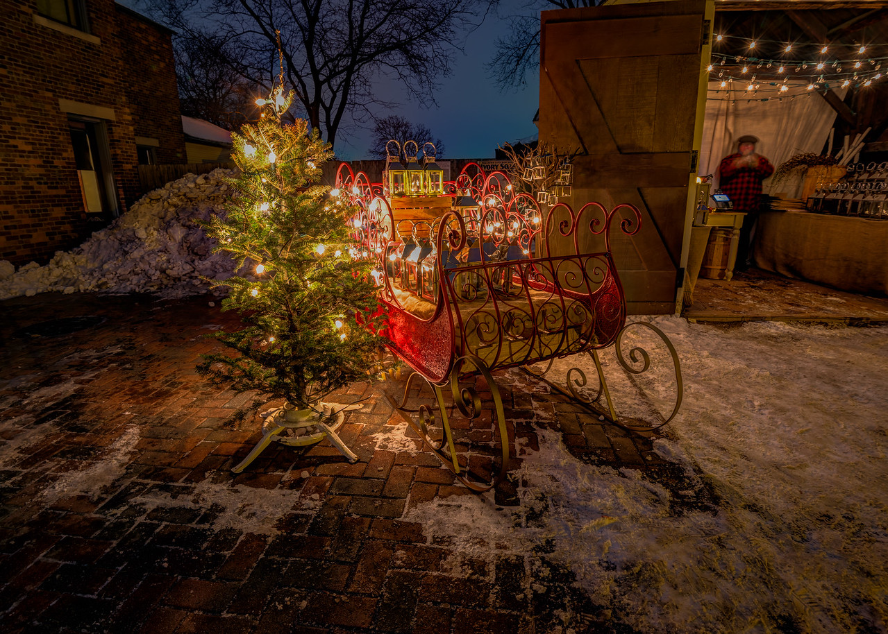 Holiday Nights - Greenfield Village 2016