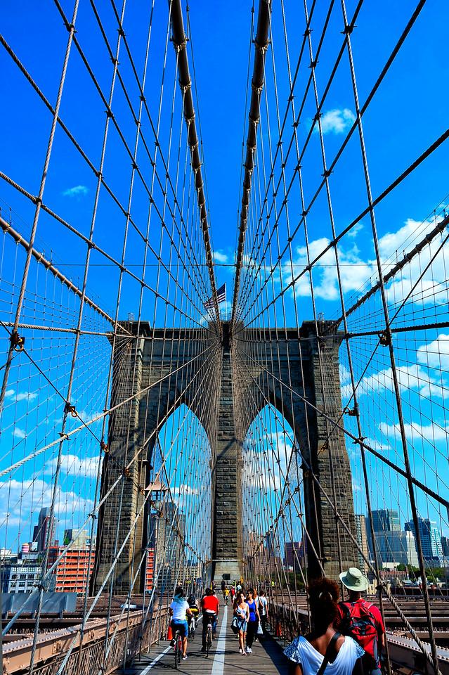 Brooklyn Bridge, NYC 2014