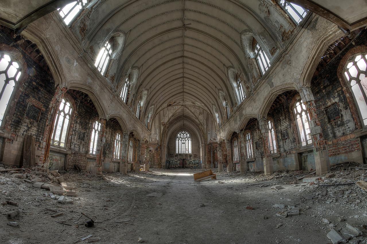 Abandoned Church - Detroit, MI 2014