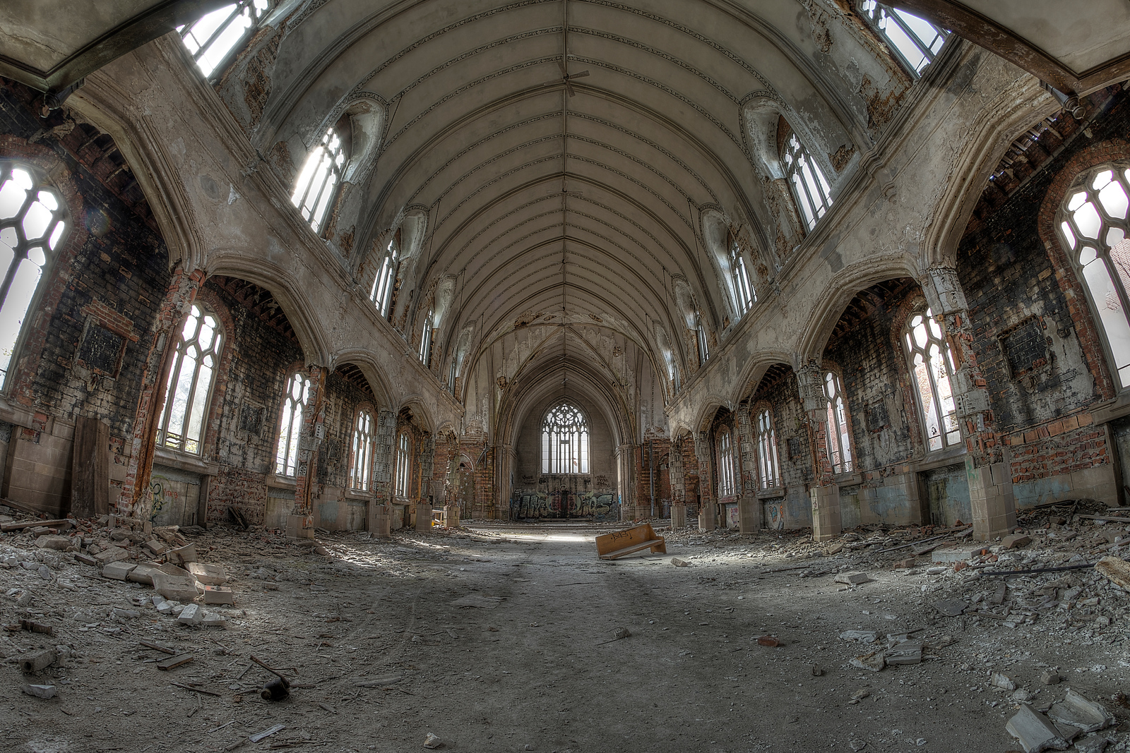 Abandoned Church - Detroit, MI 2014