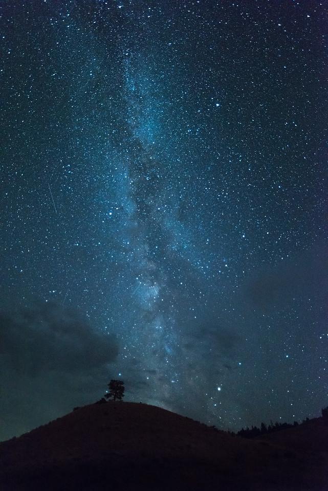 Milky Way - Yellowstone 2017
